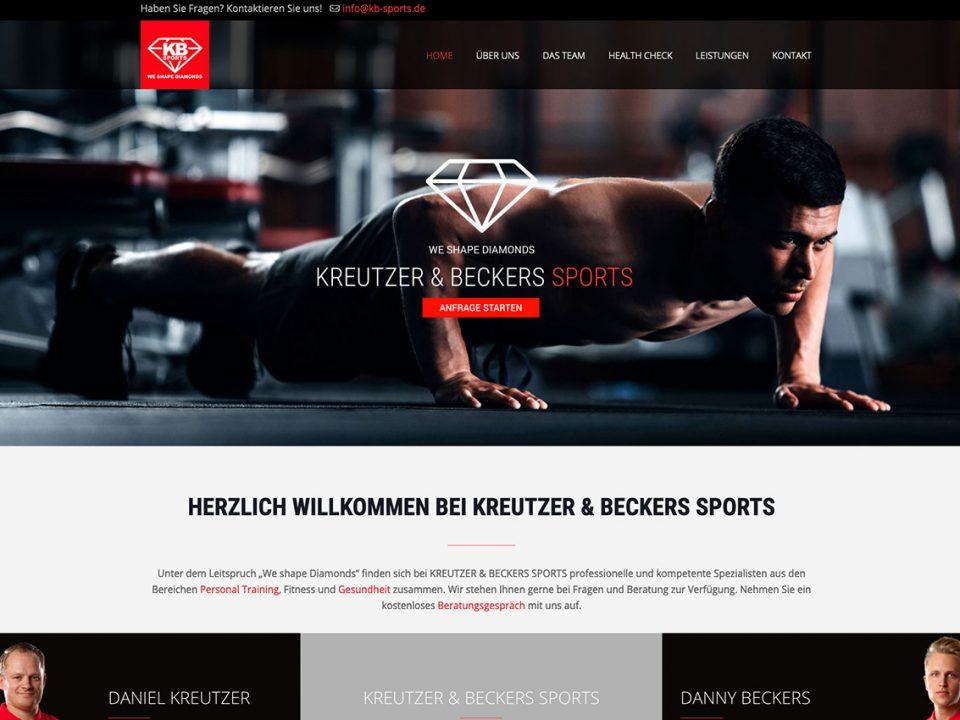 coolpack webdesign düsseldorf kb sports