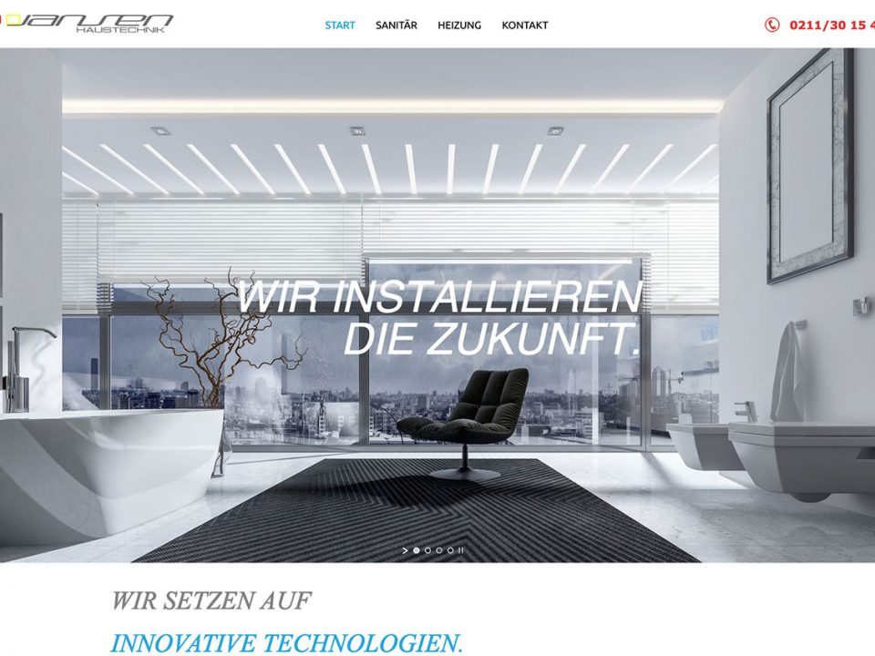 coolpack webdesign düsseldorf Jansen