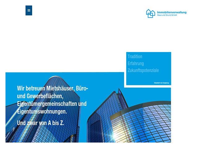 coolpack webdesign düsseldorf - Haus und Grund