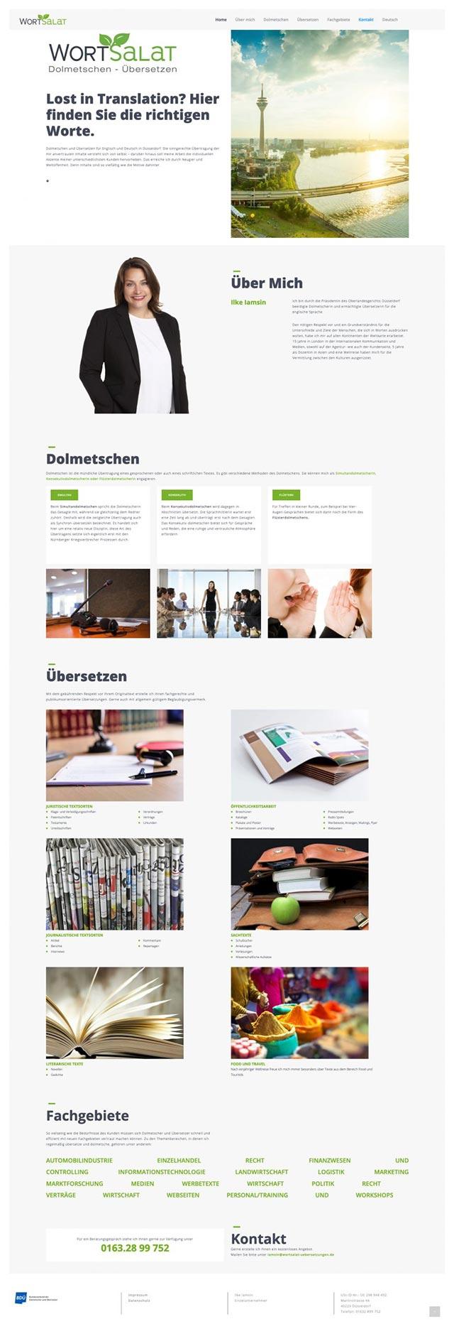 coolpack webdesign düsseldorf - Wortsalat